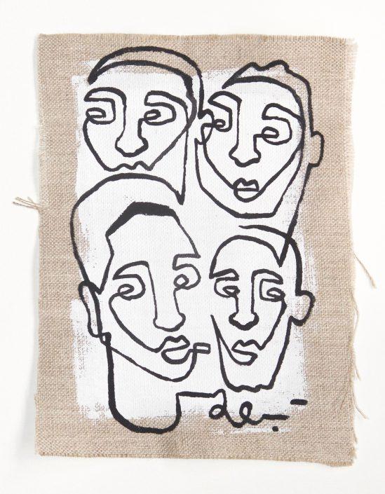 4 gezichten